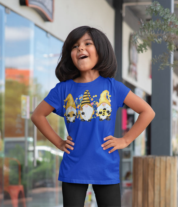 Kids Bee Gnome T Shirt Beekeeper Shirt Cute Gnome TShirt Honey Shirt Adorable Bee Keeper Gift Idea Boho Tee-Shirts By Sarah