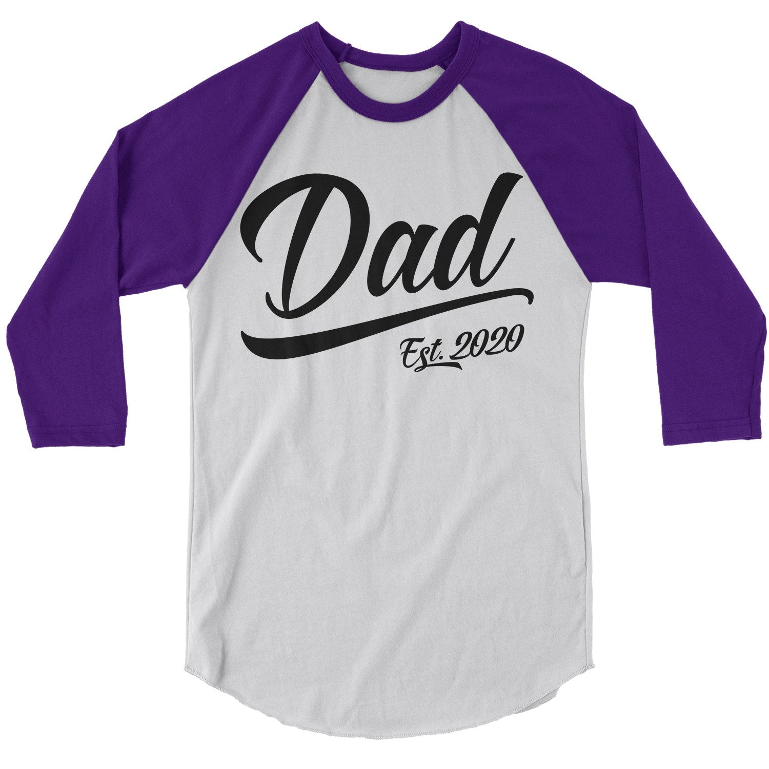 Proud Dad Childrens Long Sleeve T-Shirt Boys Cotton Tee Tops