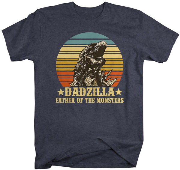Men's Funny Dad T Shirt Father's Day Gift Dadzilla Shirt Funny Dad Shirt Father Of Monsters Shirt Father's Gift Idea-Shirts By Sarah