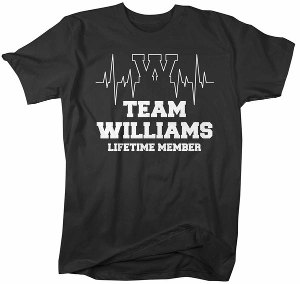 Men's Personalized Family T Shirt Adoption Shirts Custom Shirts Lifetime Member Heartbeat Reunion Shirt-Shirts By Sarah