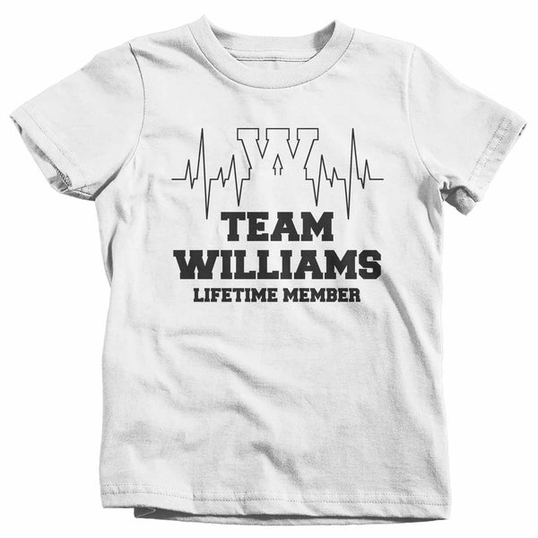 Kids Personalized Family T Shirt Adoption Shirts Custom Shirts Lifetime Member Heartbeat Reunion Shirt-Shirts By Sarah