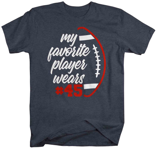 Men's Personalized Football T Shirt Favorite Player Shirt Custom Football Shirts Football Mom T Shirt Personalized Shirts-Shirts By Sarah