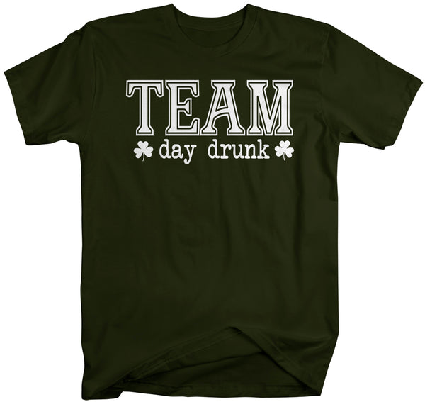 Men's Funny Irish Drinking Team Day Drunk Shirt St Patrick's Day T Shirt Shirt Drink Shirt Unisex Man Hilarious St Pats Tee-Shirts By Sarah