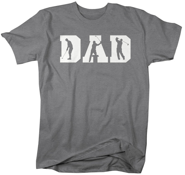Men's Golf Dad T Shirt Father's Day Gift Golf Shirt Golf Gift Daddy Golf Shirt Dad Golfer Shirt-Shirts By Sarah