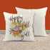 "Happy Fall Yall Pillow Cover Fall Throw Pillow Case Watercolor Pumpkin Home Decor Latte Square Pumpkin Spice 15"" Square-Shirts By Sarah"