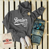 Senior Class 2018 Hoodie Graduation Shirts By Sarah Pullover Sweatshirt-Shirts By Sarah