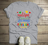 Men's Autism Dad Shirt Autism Journey Shirts Different Road Map Autism T Shirt-Shirts By Sarah