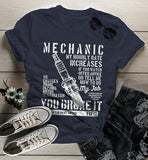 Women's Funny Mechanic T Shirt Hourly Rate Shirts Spark Plug Tee Mechanics Gift Idea-Shirts By Sarah