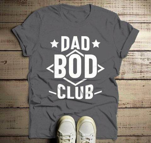 f92796c1 Men's Funny Dad T Shirt Dad Bod Club Gift Idea Tee Father's Day Humor Dad  Joke