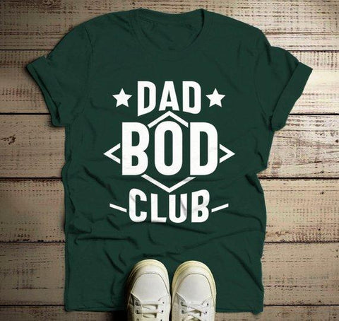 6de23bcda Men's Funny Dad T Shirt Dad Bod Club Gift Idea Tee Father's Day Humor Dad  Joke