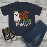 Girl's Boo Tiful Halloween T shirt Cute Ghoul Ghost Shirts Toddler Tee-Shirts By Sarah