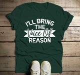 Men's Matching Party T Shirts Bachelor Party TShirt Best Friends Bring The Voice Of Reason Tee-Shirts By Sarah