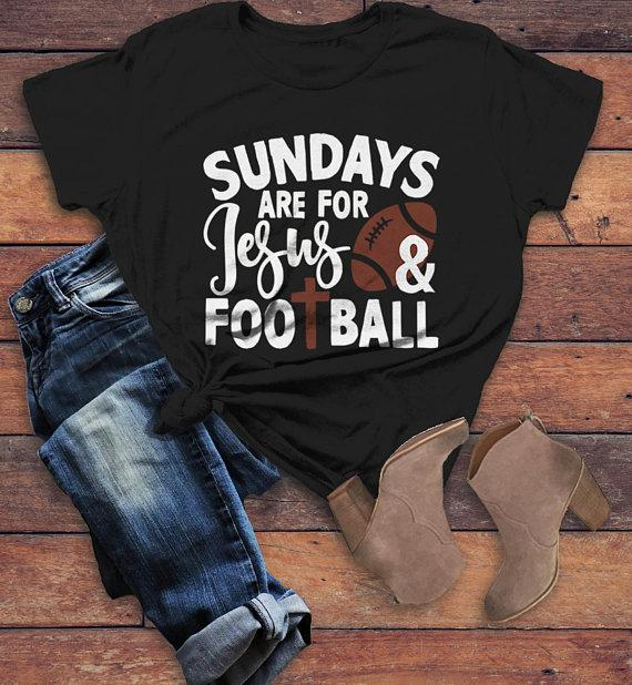 Unisex Infant Cotton Tee Sundays are for Football T-Shirt