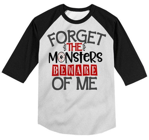 kids funny halloween shirt forget monsters beware of me toddler shirts adorable halloween top 3