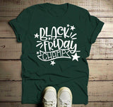 Men's Black Friday T Shirt Black Friday Champ Shirts Shopping Tee-Shirts By Sarah
