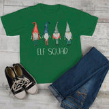 Kids Elf Squad Shirt Christmas Shirts Elf Outfit Idea Nordic Elves Shirt Hand Illustrated Graphic Tee Boy's Girl's Toddler-Shirts By Sarah