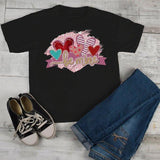 Kids Valentine's Shirt Be Mine T Shirt Valentine Shirts Hearts T-Shirt Heart Tee Toddler Boy's Girl's-Shirts By Sarah