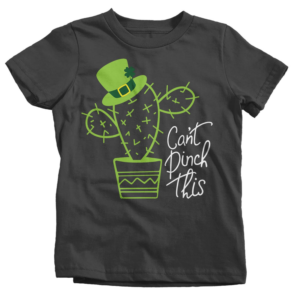 c1423514 Kids Funny Can't Pinch This T-Shirt St. Patrick's Day Shirts Graphic ...