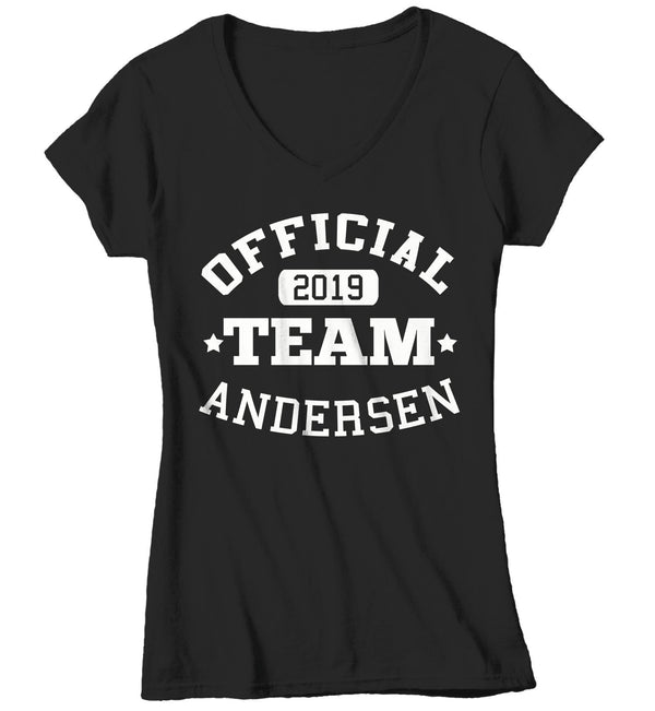 Women's Personalized Adoption T Shirt Matching Custom Family Shirts Adopt Adopting Tee Official Team TShirt-Shirts By Sarah
