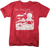 Men's Let's Sleep Under The Stars T-Shirt Camping Shirts Wanderlust Shirt Wanderlust Clothing-Shirts By Sarah