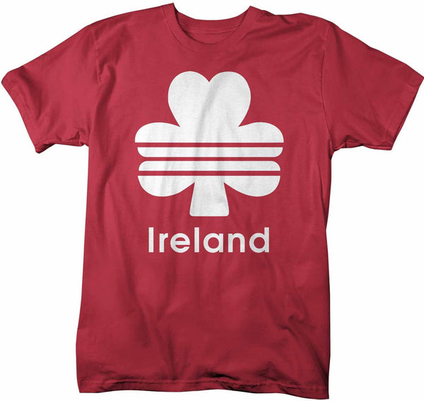 Men's Ireland T Shirt Clover Shirt St Patrick's Day Shirt St Patty's Day Shirt St Pat Clover Tshirt-Shirts By Sarah