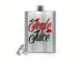 8 Oz. Funny Christmas Hip Flask Jingle Juice Holiday Funny Quote Drinker Stainless Steel Whiskey Liquor Flask Gift Idea Scotch-Shirts By Sarah