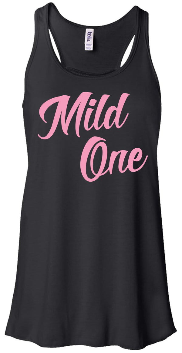 Shirts By Sarah Women's Mild One Wild One Best Friend Tank Top (Mild One)-Shirts By Sarah