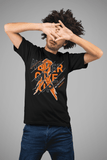 Men's Multiple Sclerosis T-shirt Never Give Up Multiple Sclerosis Shirts Orange Ribbon TShirt MS Shirts Typography-Shirts By Sarah