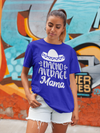 Men's Funny Mom T Shirt Nacho Average Mama Saying Tee Sombrero Moms Gift Idea
