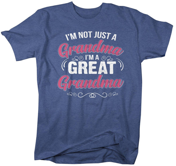 Men's Great Grandma T Shirt Not Just Grandma Great Grandma Shirt Cute Grandma Shirt Grandma Gift-Shirts By Sarah