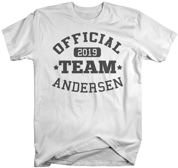 Men's Personalized Adoption T Shirt Matching Custom Family Shirts Adopt Adopting Tee Official Team TShirt-Shirts By Sarah