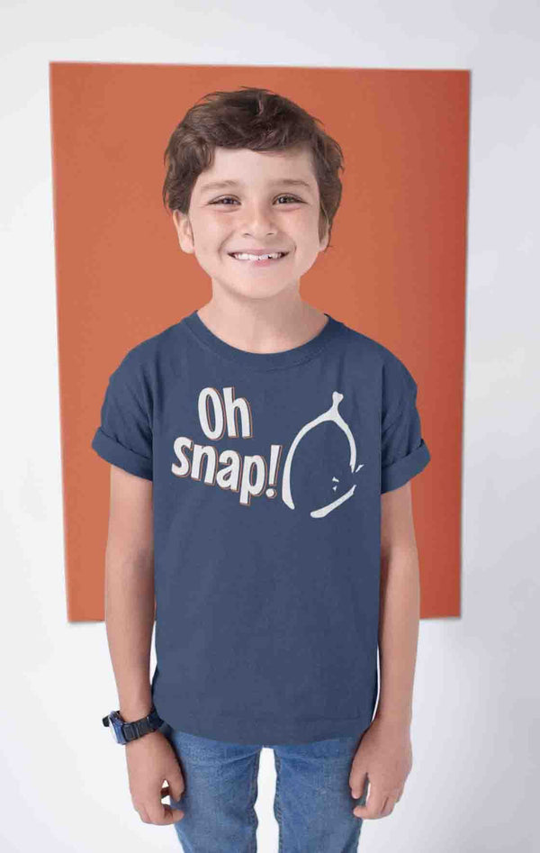 Funny Funny Thanksgiving T Shirt Oh Snap Shirt Thanksgiving Shirts Wishbone Shirt Funny Tee Snap Shirt Bone Shirt-Shirts By Sarah