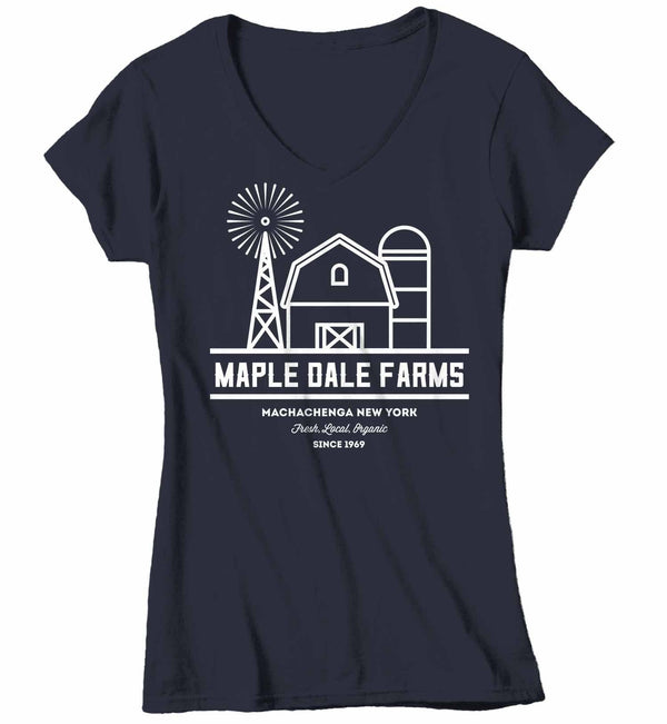 Women's Personalized Farm T-Shirt Vintage Farmer Shirt Custom Barn Tee Shirts Customized TShirt-Shirts By Sarah