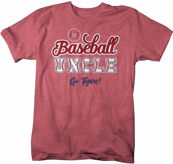 Men's Personalized Baseball T Shirt Custom Baseball Shirts Baseball Dad T Shirt Personalized Baseball Papa Shirts-Shirts By Sarah