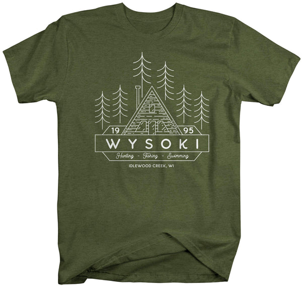 Men's Personalized Camp T Shirt Family Cabin Shirts Custom Camping Shirt Matching T Shirts Hunting Camper Mans Unisex-Shirts By Sarah