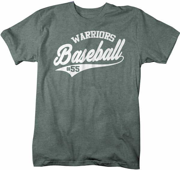 Men's Custom Baseball T Shirt Personalized Vintage Shirts Baseball Parent T Shirt Personalized Shirt Vintage Baseball-Shirts By Sarah