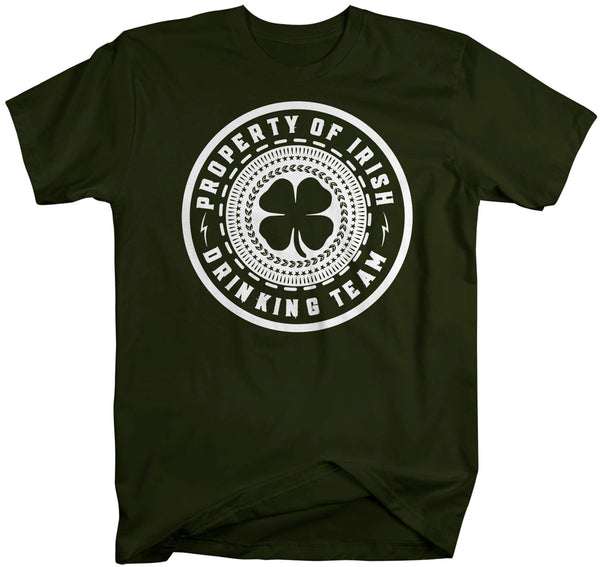 Men's Funny Irish Drinking Team Shirt St Patrick's Day T Shirt Property Of Shirt Drink Shirt Man Unisex Hilarious St Pats TeeCopy of 000 Men's Copy Product VINTAGE-Shirts By Sarah