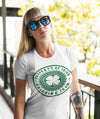 Women's Funny Irish Drinking Team Shirt St Patrick's Day T Shirt Property Of Shirt Drink Shirt Ladies VNeck Hilarious St Pats Tee