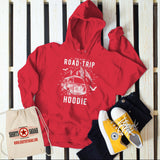 Hipster Road Trip Hoodie Mountains Adventure Camping Vintage Sweatshirt-Shirts By Sarah