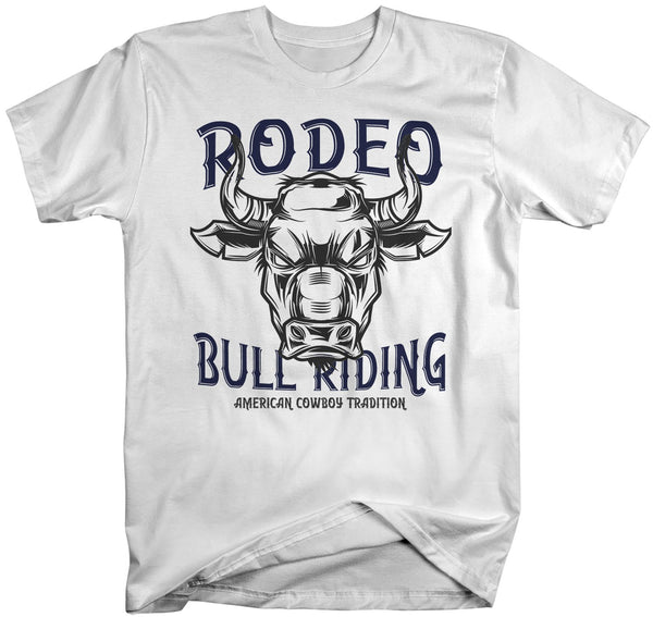 Men's Vintage Rodeo T Shirt American Cowboy Shirts Wild West Bull Riding Graphic Tee Western TShirt Vintage Shirt-Shirts By Sarah