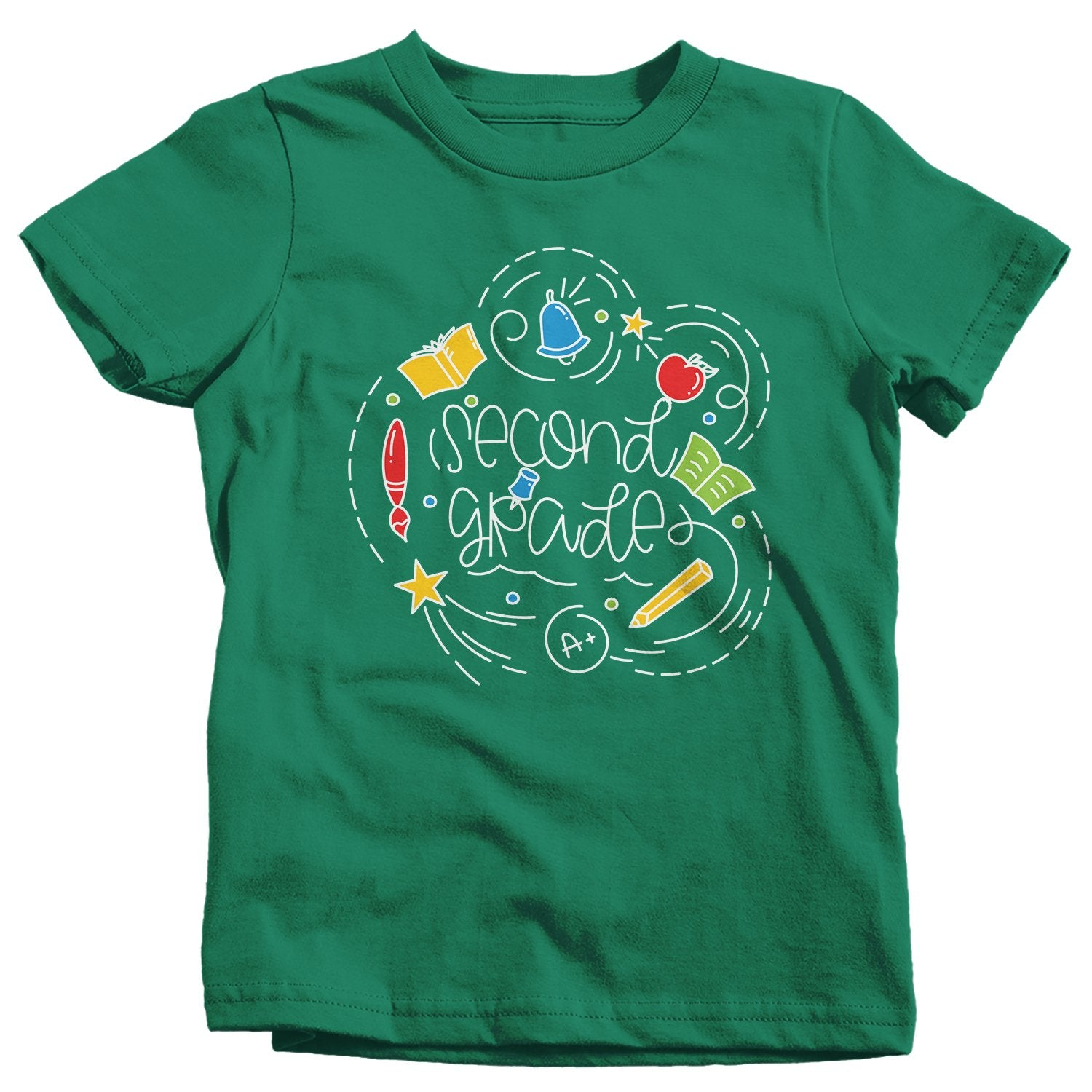 Kids Second Grade T Shirt 2nd Grade Shirt Boy's Girl's