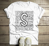 Men's Sophomore T Shirt Class Tee Typography Back To School School Gift Idea Shirts Cool Sophomores-Shirts By Sarah