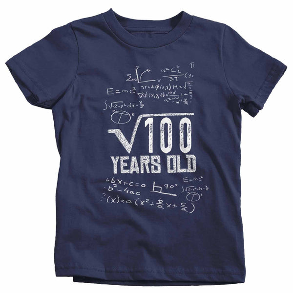 Kids Funny Birthday T Shirt Square Root Custom Birthday Shirt 40th Birthday 50th Birthday 30th Birthday Geek Birthday Shirt-Shirts By Sarah