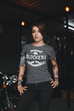 Women's Vintage Derby Blocker T-Shirt Don't Wear Panties Roller Derby Shirt Funny Skate TShirt-Shirts By Sarah