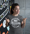 Women's Funny 40th Birthday T Shirt 40 And Awesome Shirts Fortieth Birthday Shirts Shirt For 40th Birthday