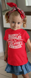 Kid's Funny Fireworks T Shirt Sparkler To Fireworks 3 Seconds Shirt 4th July Graphic Tee Toddler Tantrum Shirts