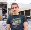 Men's Funny Farmers Market T Shirt Nothing Beets The Farmers Market Shirts Beet Vintage Farmers Market Shirt
