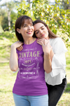 Women's Vintage 1971 50th Birthday T-Shirt Classic Fifty Shirt Gift Idea 50th Birthday Shirts Vintage Tee Vintage Shirt Ladies