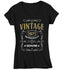 Women's V-Neck Vintage 1971 50th Birthday T-Shirt Classic Fifty Shirt Gift Idea 50th Birthday Shirts Vintage Tee Vintage Shirt Ladies-Shirts By Sarah