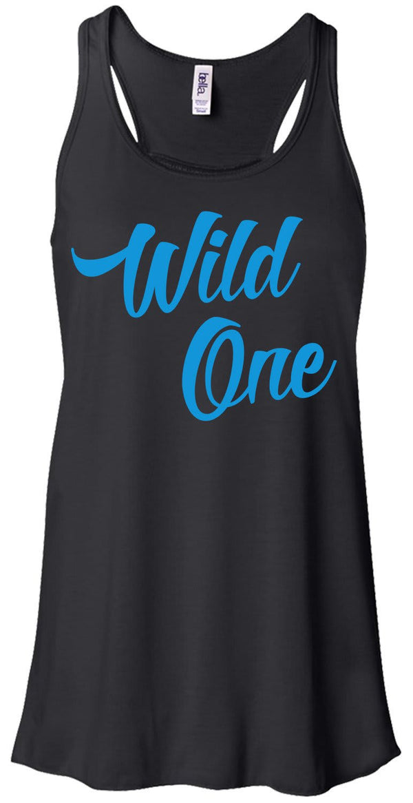 Shirts By Sarah Women's Mild One Wild One Best Friend Tank Top (Wild One)-Shirts By Sarah